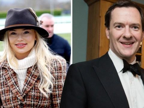 Georgia Toffolo looking for 'George Osborne lookalike' after splitting with boyfriend