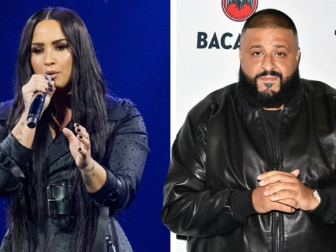 DJ Khaled brings Demi Lovato to tears as he stops gig midway through to deliver heartfelt speech