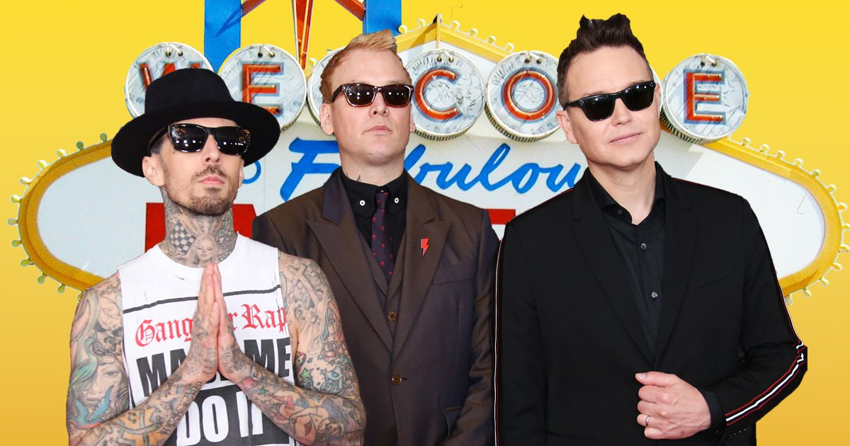 Blink-182 land Las Vegas residency and we've never needed tickets to something so badly