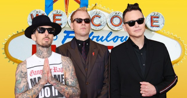 Blink-182 have just announced a show that will blow your mind (Picture: FilmMagic)