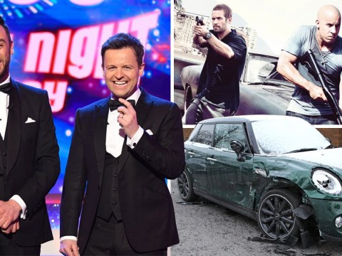 ITV replace Saturday Night Takeaway with Fast & Furious – after Ant McPartlin's drink driving arrest