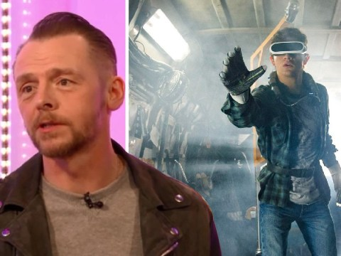 Simon Pegg thinks Ready Player One is 'the most topical film of the year'