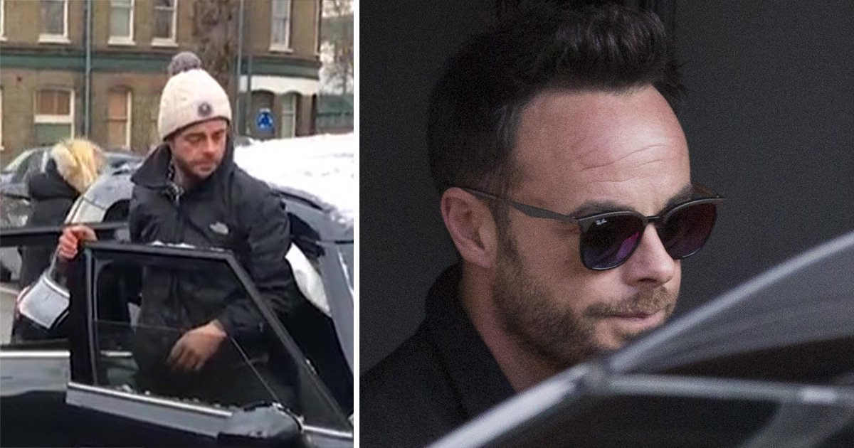 Ant McPartlin pictured for first time since drink driving arrest