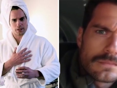 Henry Cavill gets the last laugh with in memoriam video for that moustache