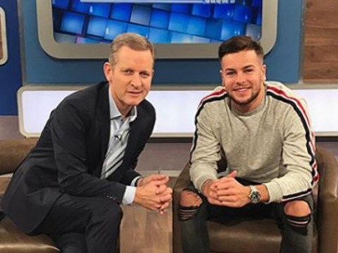 Chris Hughes hints at an appearance on The Jeremy Kyle Show in Instagram post