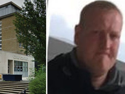Man punches ex's fence after she calls him a 'fat ginger b*****d'