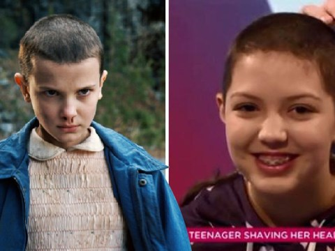 Millie Bobby Brown throws support behind teen who shaved her head for ovarian cancer awareness