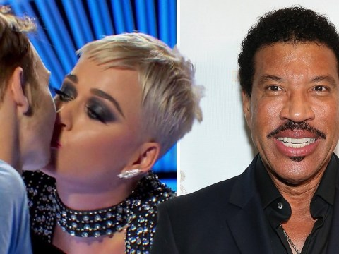 Lionel Richie defends Katy Perry over controversial American Idol kiss: 'The contestant had a good time'