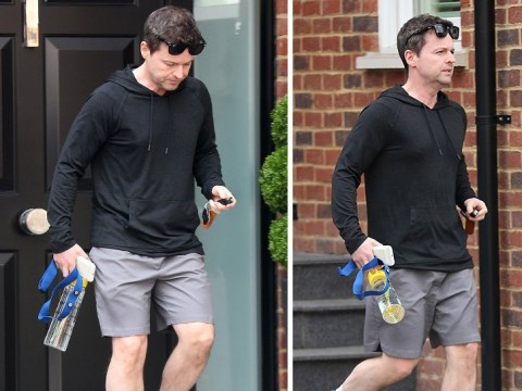 Declan Donnelly spotted looking glum amid claim he's devastated over Ant McPartlin's troubles
