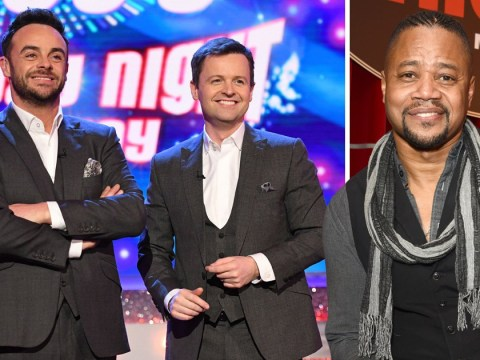 Cuba Gooding Jr says Ant McPartlin and Dec Donnelly are 'great at what they do' as they separate for first time