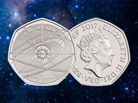 Do you have this rare Sir Isaac Newton 50p coin selling for £140?