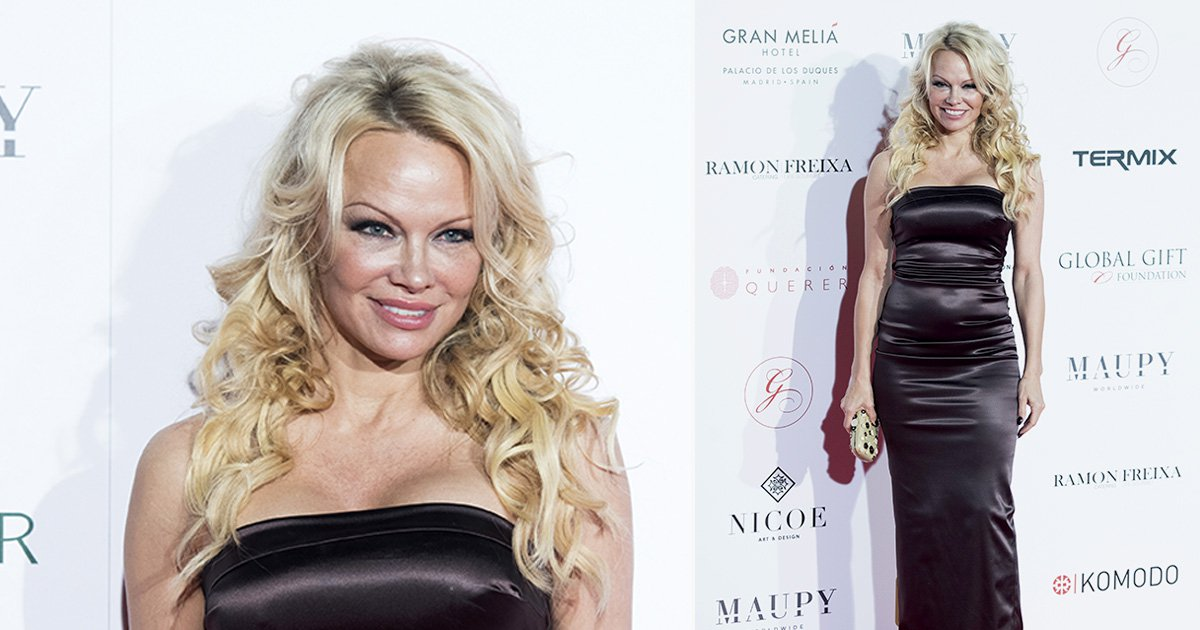 Pamela Anderson puts on brave face following public Tommy Lee fight