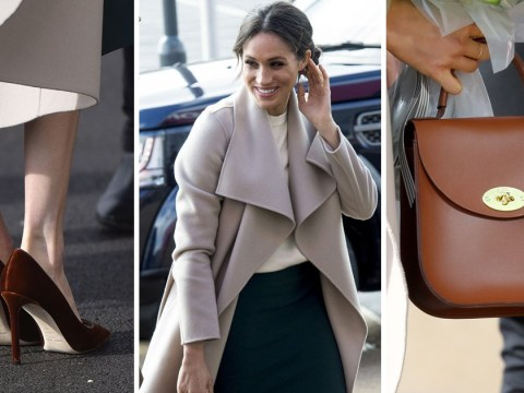 What Meghan Markle was wearing during her and Prince Harry's Belfast visit and where to buy