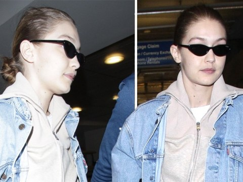 Gigi Hadid rocks the hell out of sweats as she's seen amid Lewis Hamilton romance rumours
