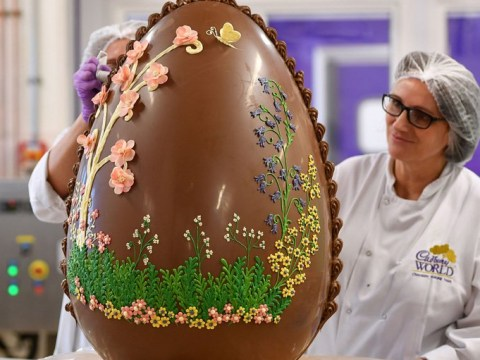Cadbury World is giving the people what they want: a seven-stone Easter egg