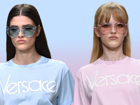 Versace T-shirts might cost £280 but they're all the rage on Instagram
