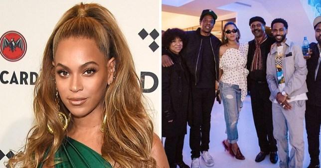 5881d5b7b Beyonce parties with Big Sean amid 'biting' scandal (Credit: Big  Sean/Instagram)