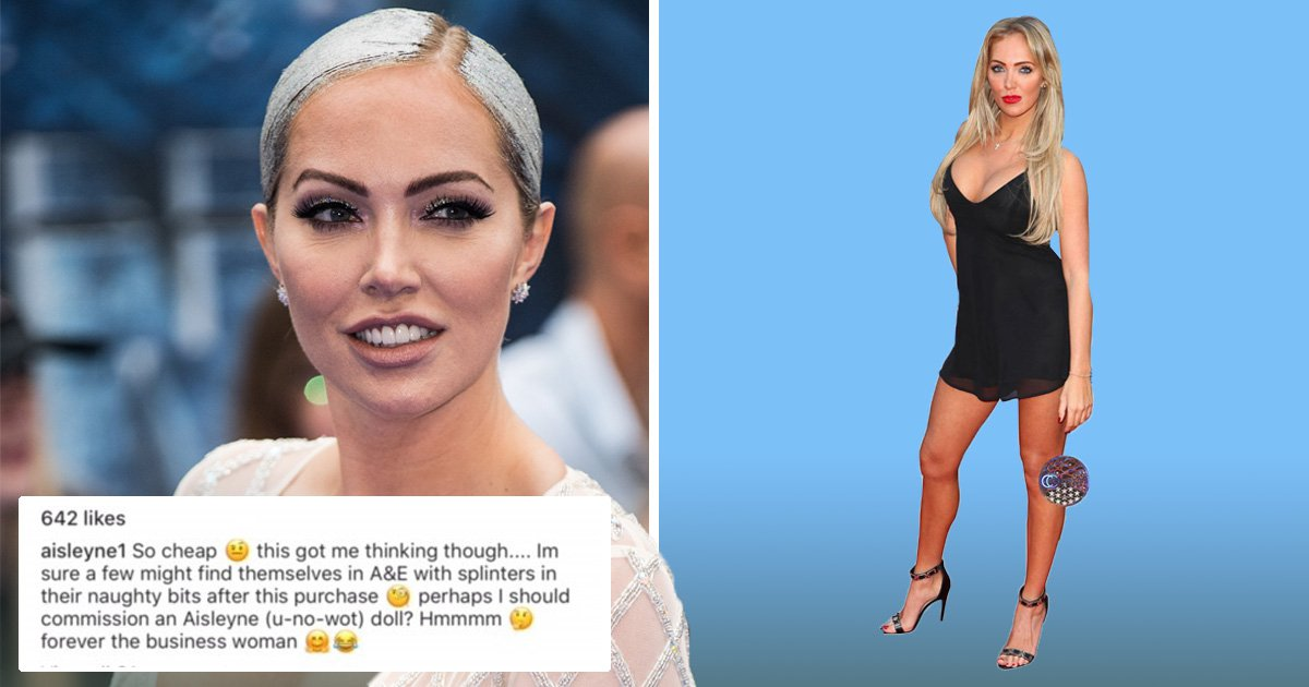 Aisleyne Horgan-Wallace jokes about turning herself into a sex doll: 'I'd make millions'