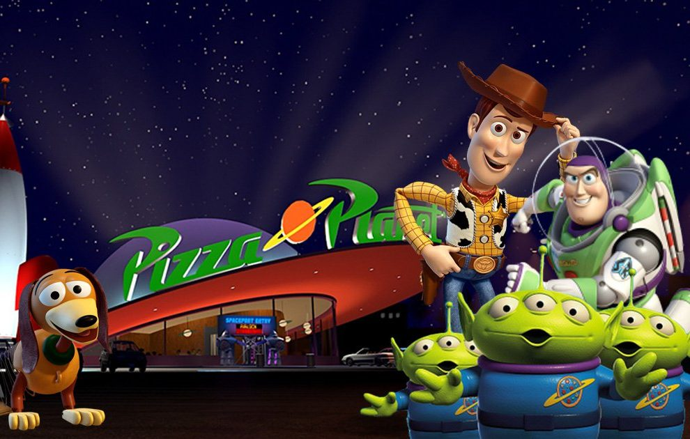 Disneyland are opening a real-life Pizza Planet from Toy Story