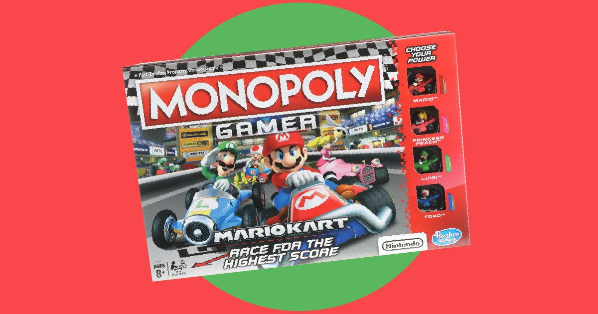 If you thought Monopoly divides families, try playing the Mario Kart version