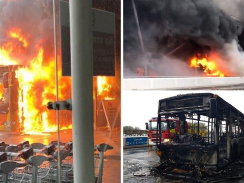 Stansted Airport back in action after shuttle bus fire grounds planes