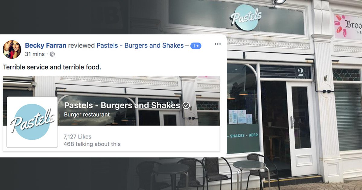Woman gave restaurant one-star because she didn't get free food