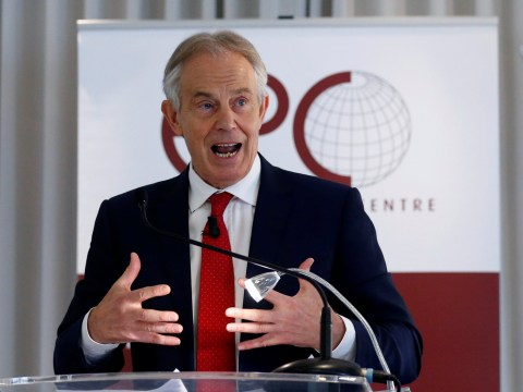 Tony Blair steps up call for a second EU referendum