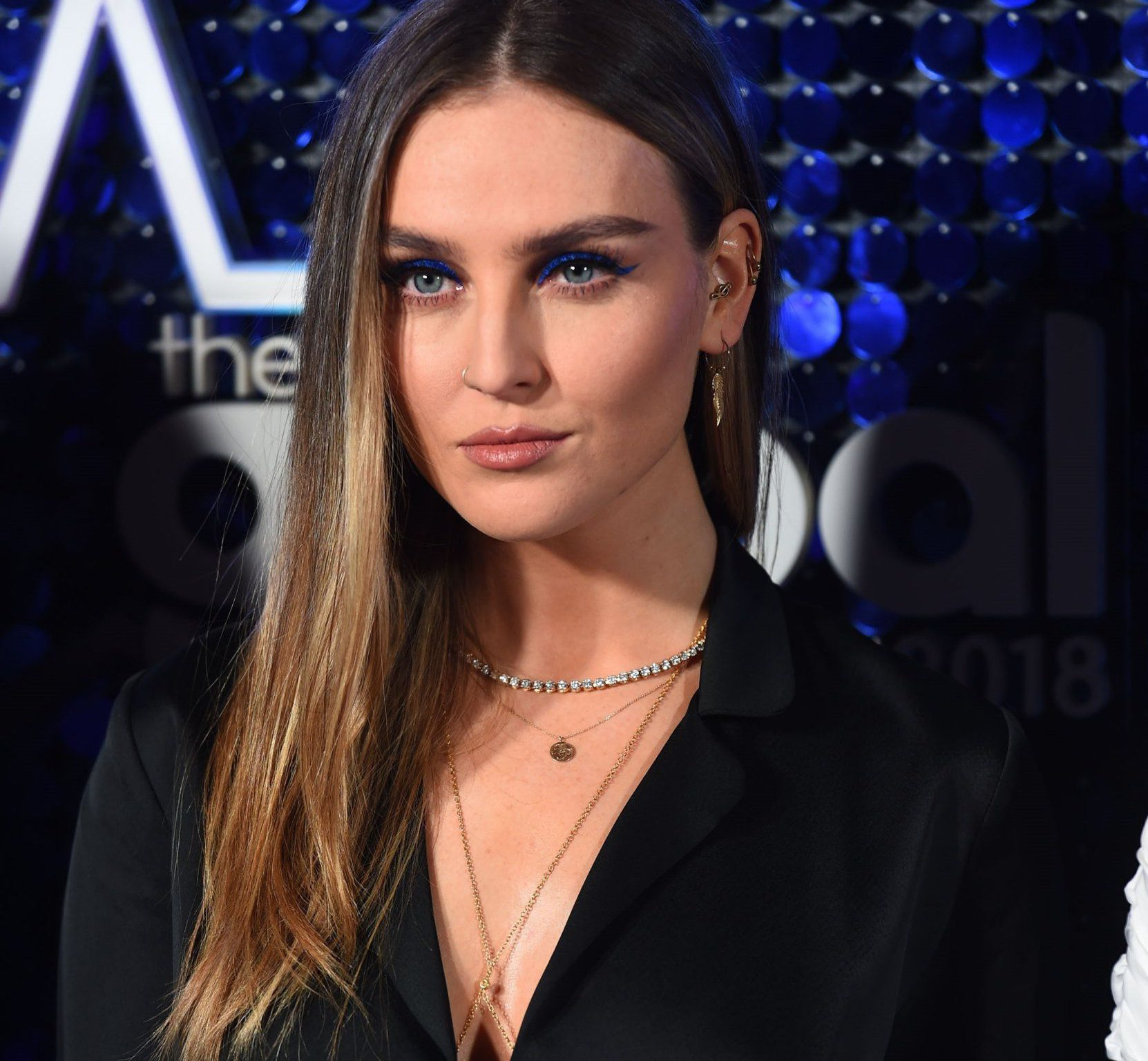 BGUK_1158313 - London, UNITED KINGDOM - The 2018 Global Awards held at the Eventim Apollo, Hammersmith, London Pictured: Perrie Edwards BACKGRID UK 1 MARCH 2018 BYLINE MUST READ: TIMMSY / BACKGRID UK: +44 208 344 2007 / uksales@backgrid.com USA: +1 310 798 9111 / usasales@backgrid.com *UK Clients - Pictures Containing Children Please Pixelate Face Prior To Publication*