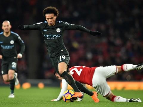 Leroy Sane humiliates five Arsenal players before assisting Bernardo Silva