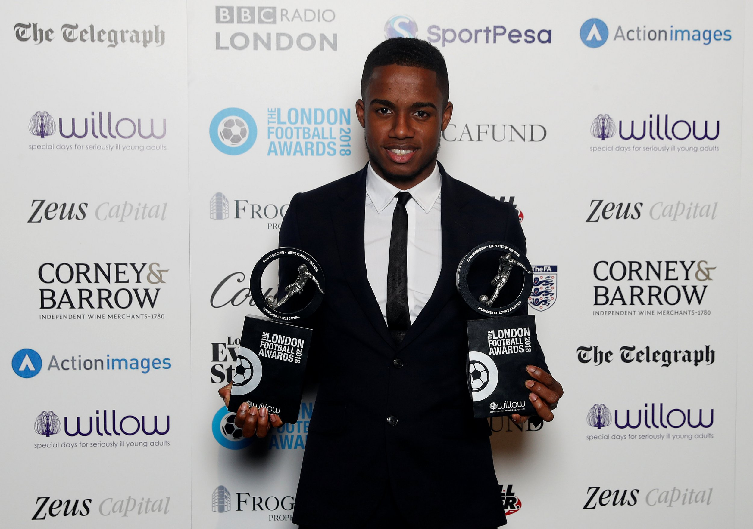 Chelsea totally snubbed at London Football Awards as Harry Kane and Ian Wright claim prizes