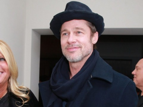Brad Pitt makes rare appearance at Oscars party looking 'happy and healthy'