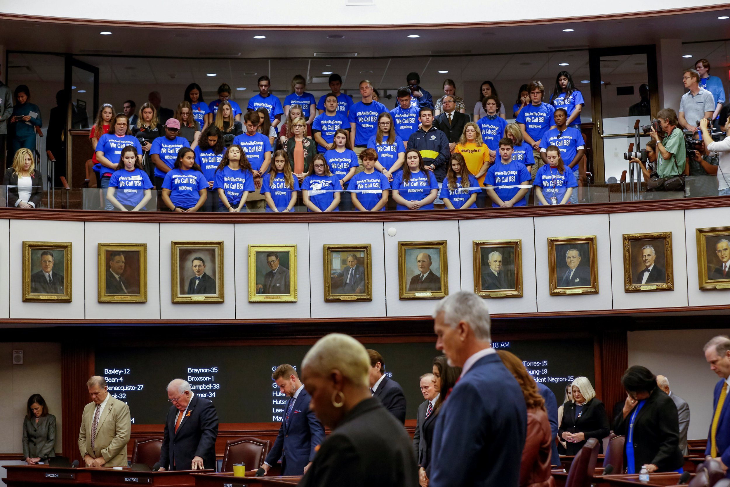 Florida approves new gun restrictions in wake of school massacre