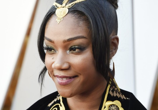 HOLLYWOOD, CA - MARCH 04: Tiffany Haddish attends the 90th Annual Academy Awards at Hollywood & Highland Center on March 4, 2018 in Hollywood, California. (Photo by Kevin Mazur/WireImage)