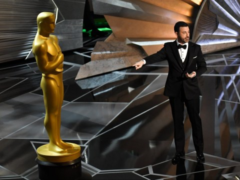 Jimmy Kimmel says Oscar statue is the best man in Hollywood because he doesn't have a penis