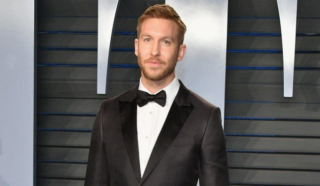 BEVERLY HILLS, CA - MARCH 04: Calvin Harris attends the 2018 Vanity Fair Oscar Party hosted by Radhika Jones at Wallis Annenberg Center for the Performing Arts on March 4, 2018 in Beverly Hills, California. (Photo by Dia Dipasupil/Getty Images)