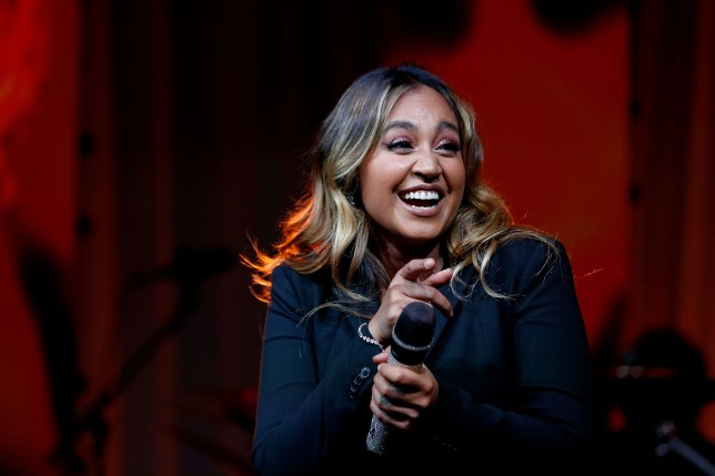 CANBERRA, AUSTRALIA - FEBRUARY 13: Jessica Mauboy performs during the Qatar Airways Canberra Launch gala dinner on February 13, 2018 in Canberra, Australia. (Photo by Lisa Maree Williams/Getty Images for Qatar Airways)
