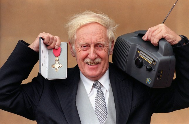 File photo dated 09/10/97 of Trevor Baylis, with his OBE, as the wind-up radio inventor has died aged 80. PRESS ASSOCIATION Photo. Issue date: Monday March 5, 2018. David Bunting, who runs firm Trevor Baylis Brands, said he died of natural causes on Monday morning, having been ill for a long time. See PA story DEATH Baylis. Photo credit should read: PA Wire