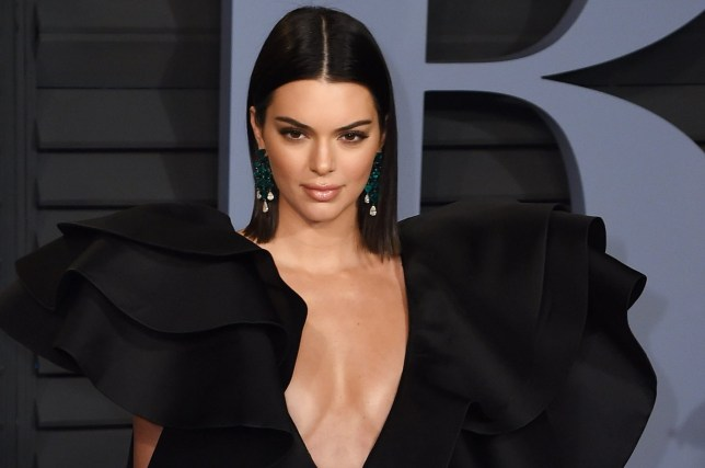 Mandatory Credit: Photo by imageSPACE/SilverHub/REX/Shutterstock (9449038nf) Kendall Jenner Vanity Fair Oscar Party, Arrivals, Los Angeles, USA - 04 Mar 2018