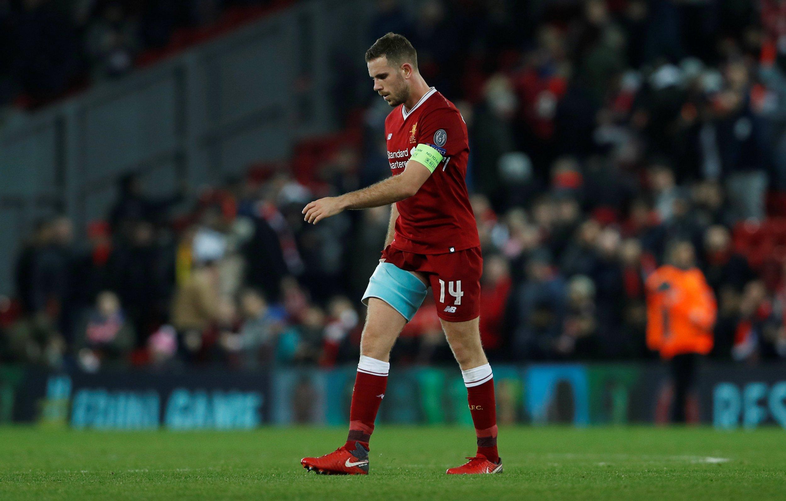 Liverpool captain Jordan Henderson allays injury fears ahead of Manchester United clash