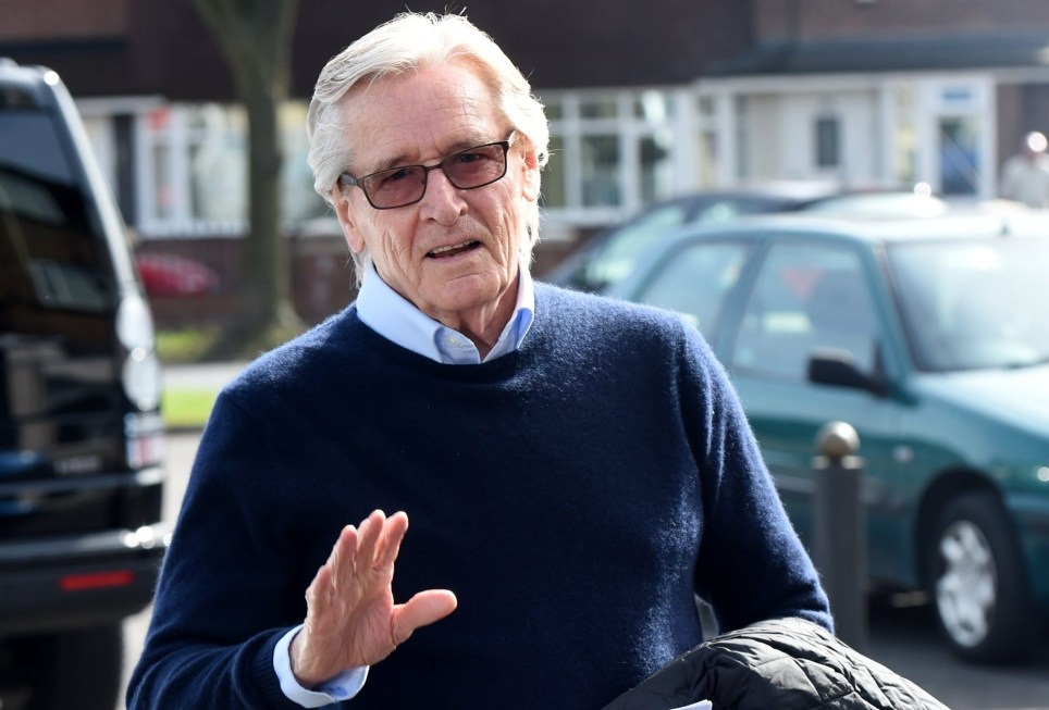 Mandatory Credit: Photo by MCPIX/REX/Shutterstock (8563004l) William Roache Coronation Street TV series filming, Manchester, UK - 03 Apr 2017 Denise Black returns to Coronation Street in her role of Denise Osbourne who featured in the show between 1992 and 1996 as she had a fling with Ken Barlow which resulted in their son Daniel. Big Roache plays Ken
