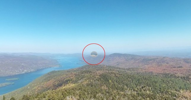 Alien hunters spot bizarre emoji-shaped 'UFO orb' on Google ... on ufo found on earth, ufo california, ufo in amazon, ufo google earth, ufo in spotlight, ufo area 51, ufo sightings in the united states, ufo in texas,