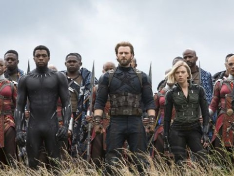 Avengers and Black Panther unite in new image from Infinity War