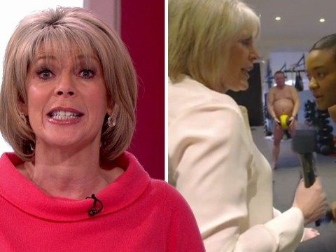 Ruth Langsford went to a naked gym in the name of television