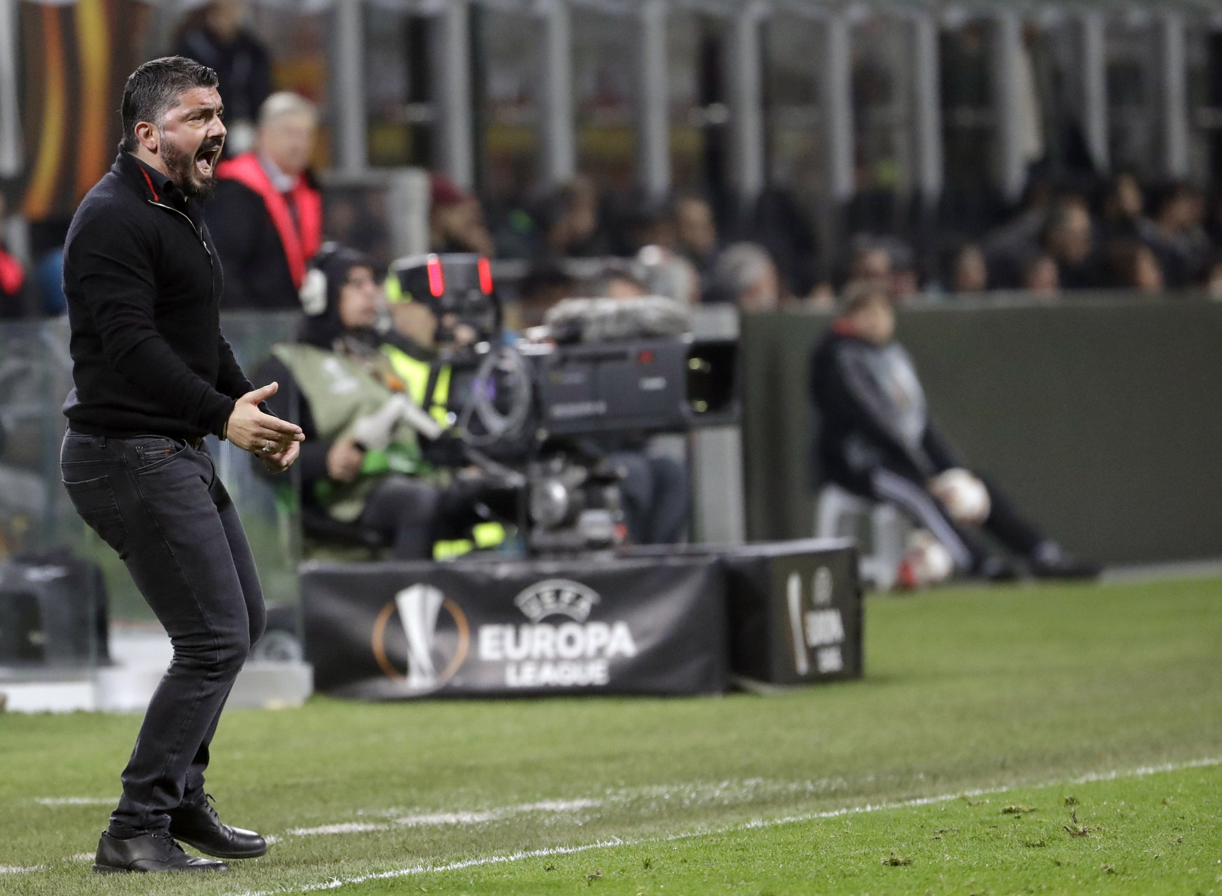 AC Milan have 30 per cent chance of progressing past Arsenal, says Gennaro Gattuso