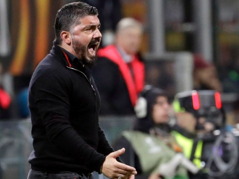 AC Milan have 30 per cent chance of progressing past Arsenal, says Gennaro Gattuso
