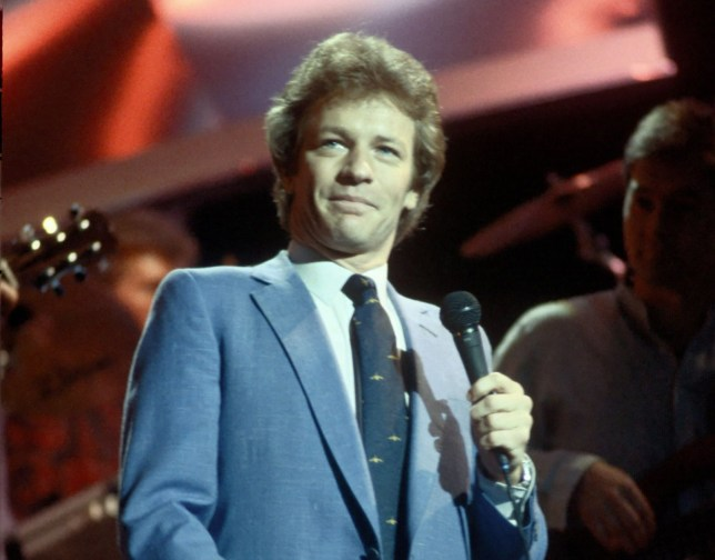 EDITORIAL USE ONLY / NO MERCHANDISING Mandatory Credit: Photo by FremantleMedia Ltd/REX/Shutterstock (918892fv) 'Des O'Connor Tonight' - Jim Davidson THAMES TV ARCHIVE