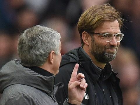 Manchester United boss Jose Mourinho 'happy' Jurgen Klopp was not punished for touchline outburst