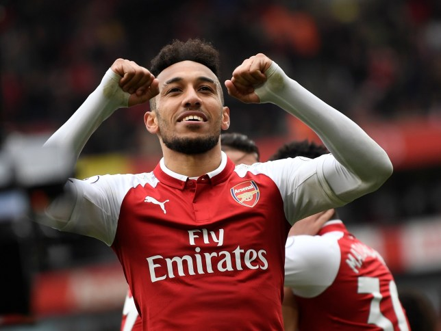 c2a5fa803 Arsene Wenger reveals the area Pierre-Emerick Aubameyang has already  improved since joining Arsenal