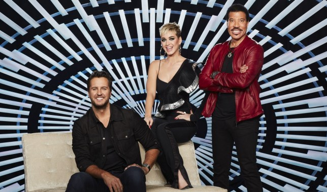 "AMERICAN IDOL - ABC's ""American Idol"" judges Luke Bryan, Katy Perry and Lionel Richie. (Craig Sjodin/ABC via Getty Images)"