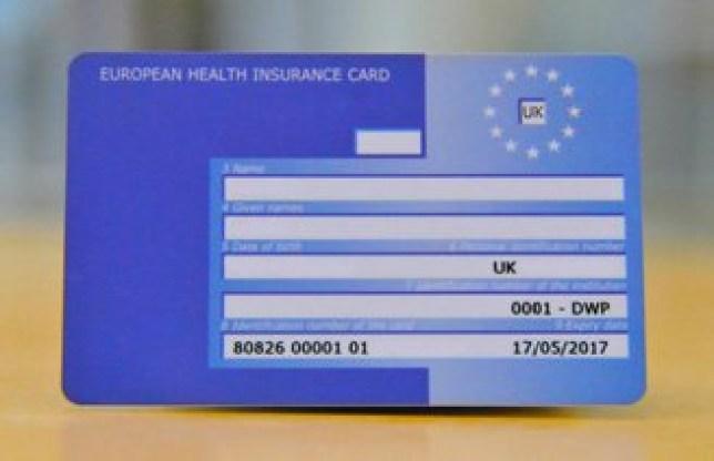 Millions Of European Health Insurance Card Expired Last Year Metro